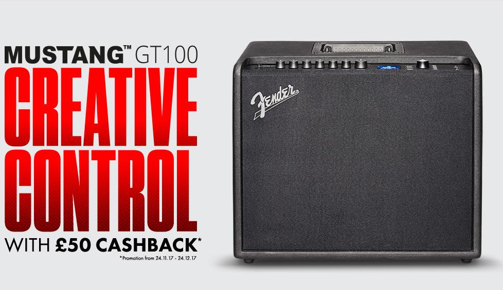 Fender Cashback Promotion